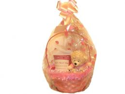 Mum Mug & Soft Toy Bear in Gift Basket