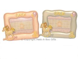Photo Frame Baby Days Wavy Edge Small