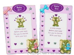 Hattie Elephant Baby Boy or Girl Plaque