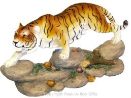Creeping Up Tiger Figurine Medium