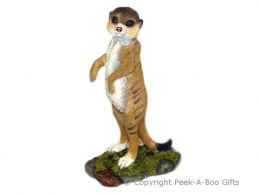 Kalahari Meerkat Figurine On the Lookout 18cm Sculpture