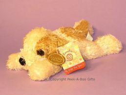 Luxury Lying Shaggy Soft Pile Dog 30cm Soft Toy