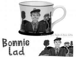 Moorland Pottery Scots Ware Bonnie Lad Mug