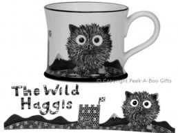 Moorland Pottery Scots Ware Wild Haggis Mug