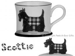Moorland Pottery Scots Ware Scottie Dog Mug