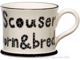 Moorland Pottery Scouser Ware Scouser Born & Bred Mug