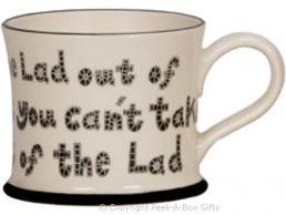 Moorland Pottery Scouser Ware Lad Out of Liverpool Mug
