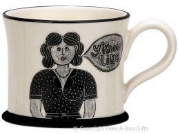 Moorland Pottery Scouser Ware Liver Bird Mug