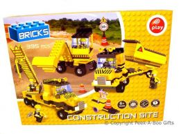 Building Block Bricks Construction Site 395pc Large Gift Set