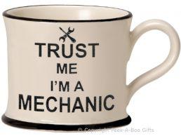 Moorland Pottery Trust Me I'm a Mechanic Mug