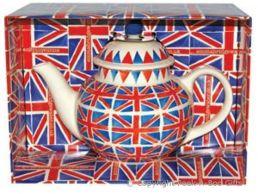 Emma Bridgewater Union Jack Large 4 Cup Large Teapot Boxed