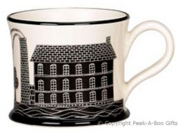 Moorland Pottery Yorkie Ware Trouble at Mill Mug