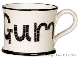 Moorland Pottery Yorkie Ware Eeby Gum Mug