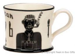 Moorland Pottery Yorkie Ware Grandad Can Fix Owt Mug