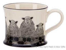 Moorland Pottery Yorkie Ware Yorkie Herdwick Sheep Mug
