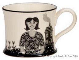 Moorland Pottery Yorkie Ware Champion Mum Mug