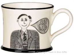 Moorland Pottery Yorkie Ware Yorkshire Lad Mug