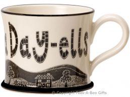 Moorland Pottery Yorkie Ware I Love T' Yok-Sha Day-Ells Mug
