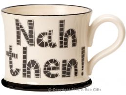 Moorland Pottery Yorkie Ware Nah Then Mug