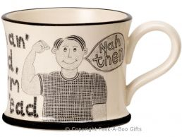 Moorland Pottery Yorkie Ware Strong in T'arm Thick in T'ead Mug