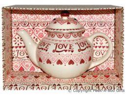 Emma Bridgewater Sampler Large 4 Cup Large Teapot Boxed