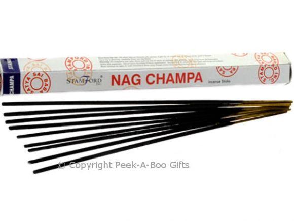 Stamford Nag Champa Scented Incense Stick 20's in Hexagonal Box