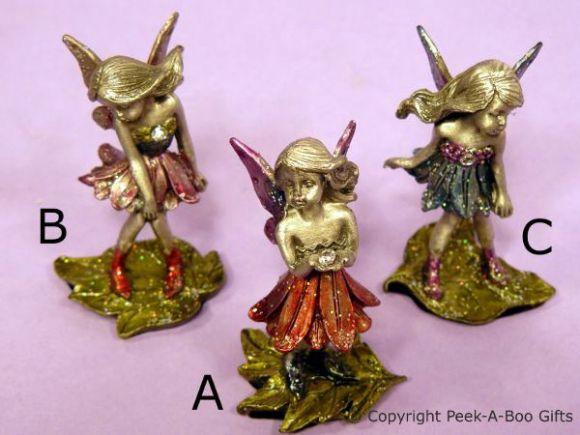 Solid Pewter Fantasy Fairy Figurine Sculpture 6cm by Leonardo