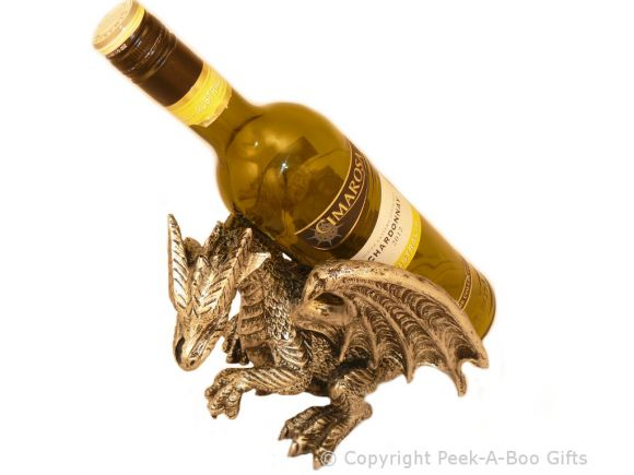 Novelty Resin Carrying Dragon Wine-Spirit Bottle Holder by Leonardo