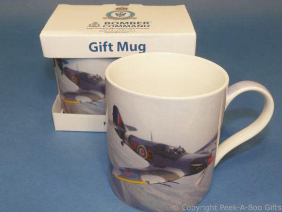 Bomber Command Hurricane Fine China Mug by Leonardo
